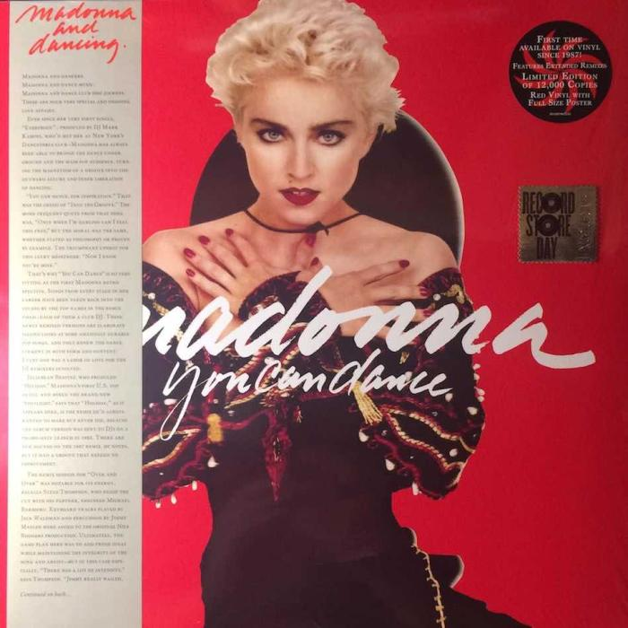 Madonna Record Store Day 2018 Reissue You Can Dance Red Vinyl EU LP Front Cover