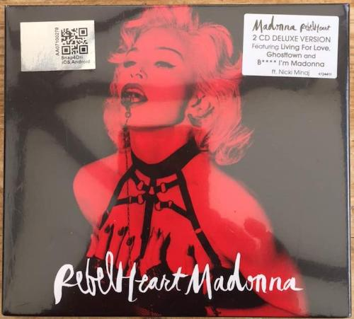 Picture of: Rebel Heart Malaysian Super Deluxe CD Album without Parental Advisory Logo Shrink-wrapped & MINT! at buySellMadonna.co.uk