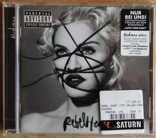Picture of: Rebel Heart German Special Edition Deluxe CD Album with Auto-Tune Baby Factory Sealed at buySellMadonna.co.uk